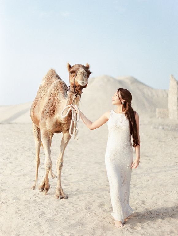 Desert Bridal Session in Dubai | Wedding Sparrow