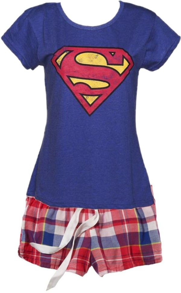 """more superman pajamas"" by curlycutie1 on Polyvore"