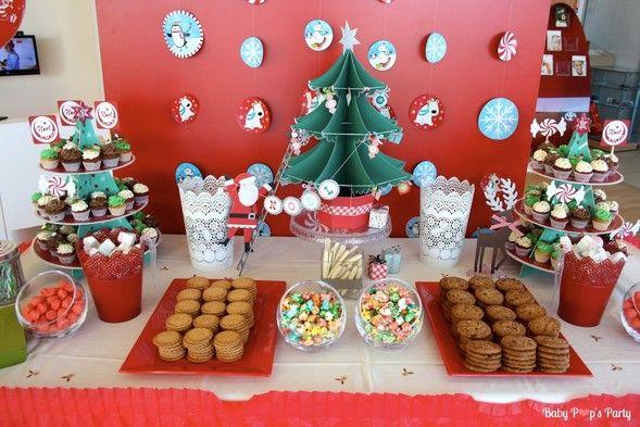 Sweet table Merry Christmas - Arbre de noël Toyota - www.babypopsparty.com/en-image