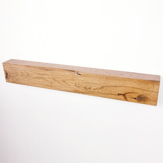 how to make a floating mantel shelf