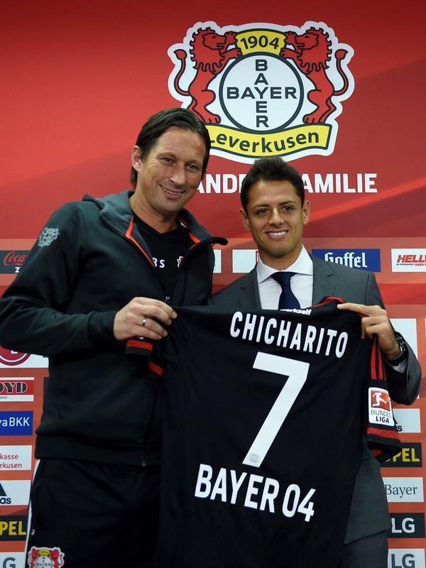 Chicharito Javier Hernández Bayer 04 Leverkusen