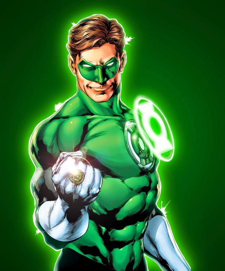 QUADRIPÉDIA: Lanterna Verde - Hal Jordan