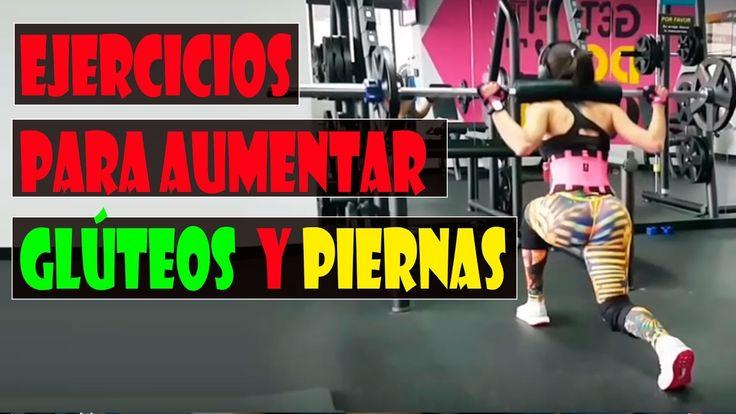 Rutina de ejercicios intensa para aumentar glúteos y piernas/4 Ejercicio...