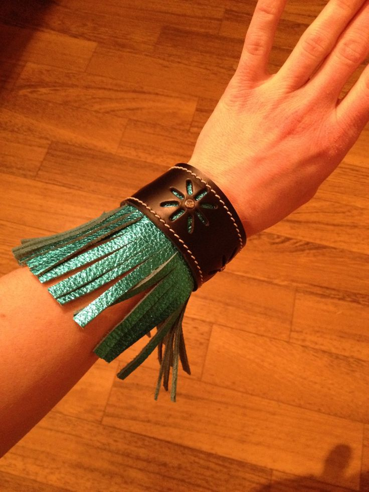 Teal Western Leather Cuff Bracelet, Jewelry, Cowgirl, Rodeo, Barrel Racer, Country, Gypsy Soul, Hippy, Horse, Southern, Cowhide, Flower by StarBoundWestern on Etsy