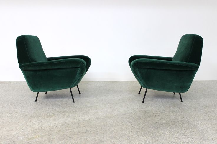 ARMCHAIRS MOD 830 Gianfranco Frattini production Cassina, 1955
