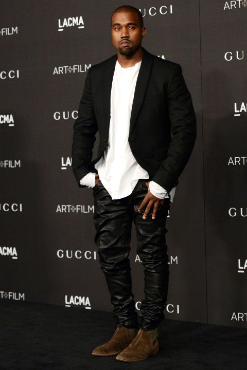 Découvrez notre sélection des pères les plus sexy d'Hollywood sur www.elle.be ! Focus: Kanye West