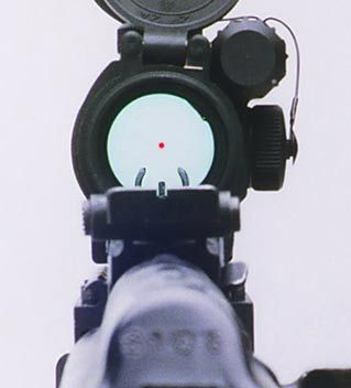 Red Dot on Ultimak Rail #reddot #ultimakrail