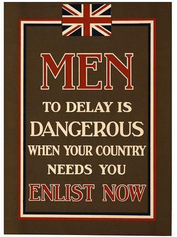 """Countries everywhere were putting signs up all over their country asking for help from their citizens. During  WW1 soldiers were dying rapidly, specifically 230 an hour. Countries like Germany and Britain were recruiting boys younger than 18, because war offices didn't have time or need to check. These young men were known as """"Boy Soldiers"""". Over the war these boys caused a controversy between officials despite the fact they were doing it for their country."""