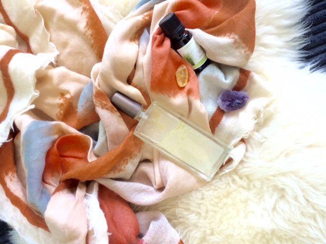 Brume parfumée aux huiles essentielles...