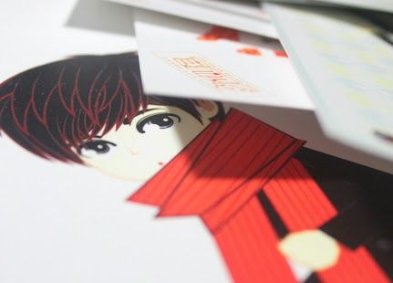 postCARD | L's ver | ready to SALE (ORDER NOW) | created by +Ratna Har (Little Lumut)