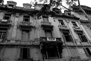 abandoned building, designed by architect Ramos de Azevedo, built for a wealthy coffee baron in the 19th century period of the Brazilian empire!