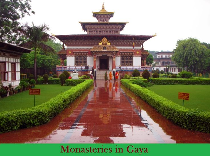 Holiday in Gaya: Top #Monasteries in Gaya Recommended by #Travellers  - Royal Bhutan Monastery, Gaya - Thai Monastery, Gaya - Tibetan Monastery, Gaya  NarGlobleIndia offers #GayaTour Packages only in 19999/- for couple. Book now at 011-430-13483 and customize your #trip to #Gaya at info@narglobleindia.com