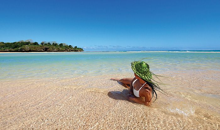 Relax on palm-fringed white sand beaches and snorkel in rolling surf at InterContinental Fiji Golf Resort & Spa.