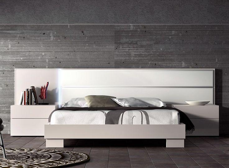 Guardia - NORMA in Lacquer Matt / High Gloss Modern Minimalist bed