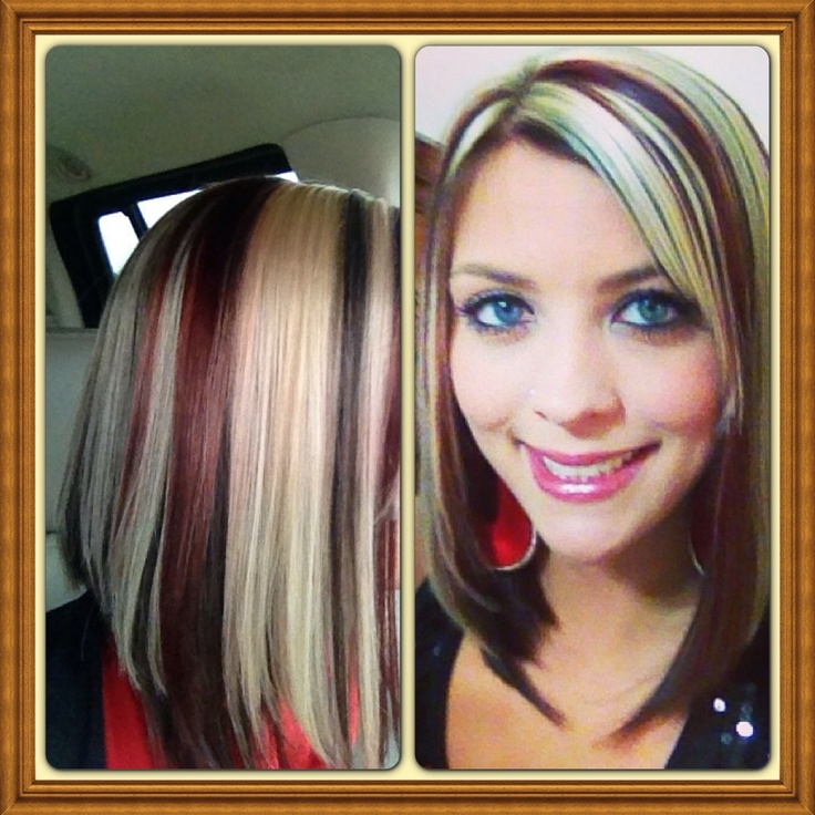 Super Red Blonde Chocolate Brown And Long Bobs On Pinterest Short Hairstyles Gunalazisus