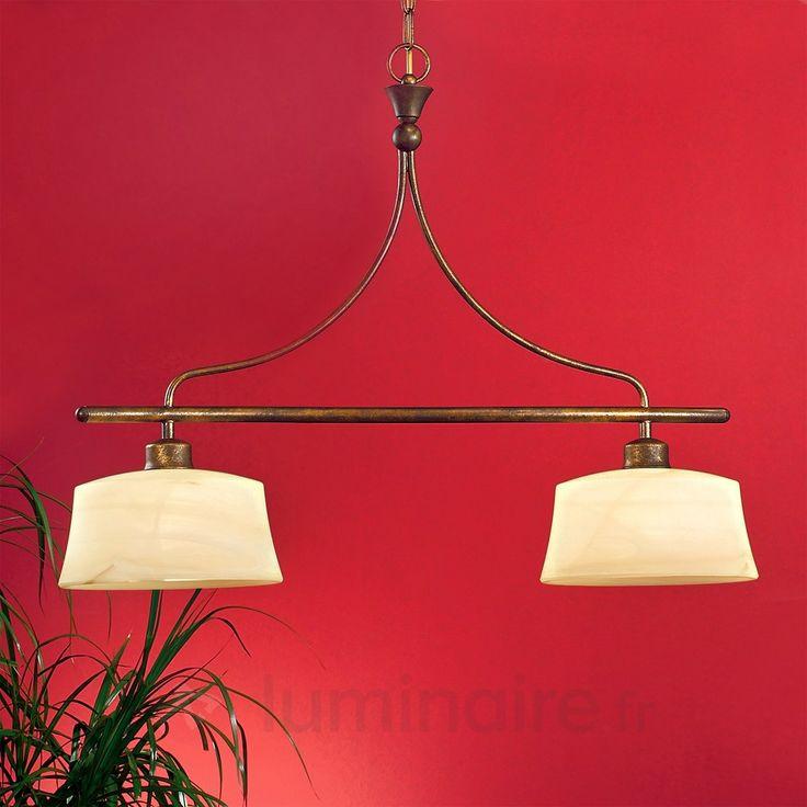 Suspension stylée ESTELLA 2 lumières sicher & bequem online bestellen bei Lampenwelt.de.
