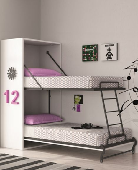 les 25 meilleures id es de la cat gorie lit superpos escamotable sur pinterest petits lits. Black Bedroom Furniture Sets. Home Design Ideas