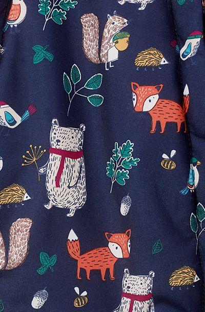 print & pattern blog -  john lewis woodland creatures fashion print