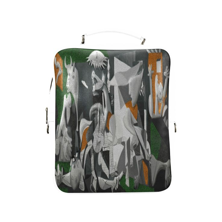 My Picasso Serie:Guernica Square Backpack (Model 1618)