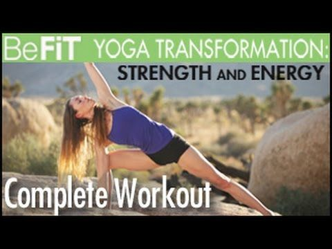 Yoga Workout for Strength & Energy: Full 50 Minute Workout- Tara Stiles & Deepak Chopra - YouTube
