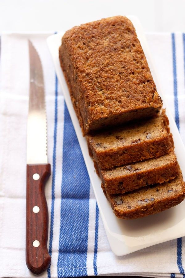 eggless banana cake recipe with step by step photos. one bowl cake recipe of banana cake which is eggless as well as vegan. quick, easy and delicious cake.