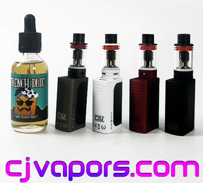 Win #COV Mini Volt and defiant tank kit and 60 mL #Frenchdude eliquid kit!