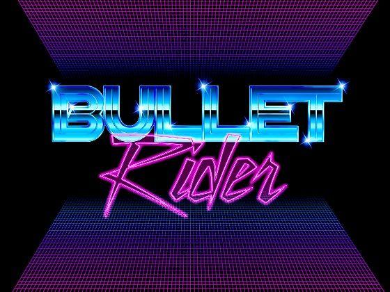 Logo with chrome + laser grid #80s | 80s logo design in ...