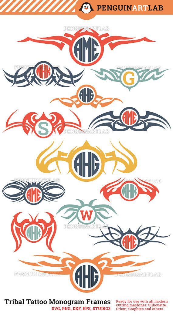 Boho Azteekse sier SVG snijden bestanden: 13 Tribal Tattoo Monogram Frames.  Dit pack bevat 13 etnische cirkel Monogram Frames die zal worden gesneden soepel en netjes, in tegenstelling tot auto-getraceerd bestanden. Professioneel ontworpen illustraties voor gebruik met de moderne snijmachines - voor kleine ambachtelijke projecten, stickers en stickers. Dit pak is klaar voor gebruik met Cricut ontwerpruimte, Silhouette Studio, Graphtec Studio, Sure Cuts alot en andere populaire scherpe…