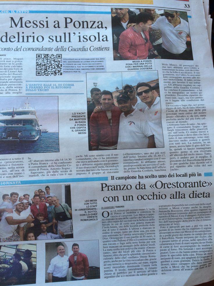 Ponza#Orestorante#Pranzo#L.Messi