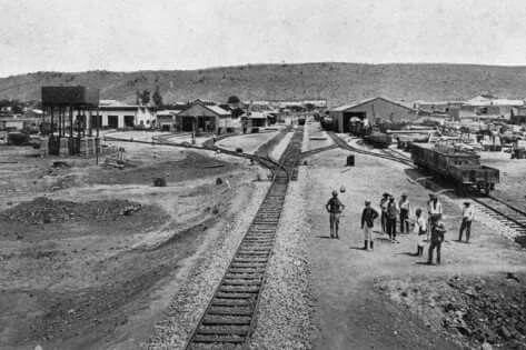 Ladysmith Railway Station 1899.