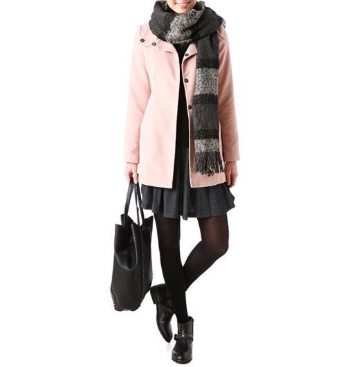 manteau en feutrine femme rose p le vetements femme pas cher manteau femme promod manteau. Black Bedroom Furniture Sets. Home Design Ideas