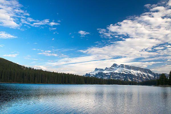 Amazing rocky mountain located at Jasper, Canada