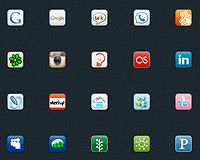 Free download: Ultimate Social Icon Set | Webdesigner Depot