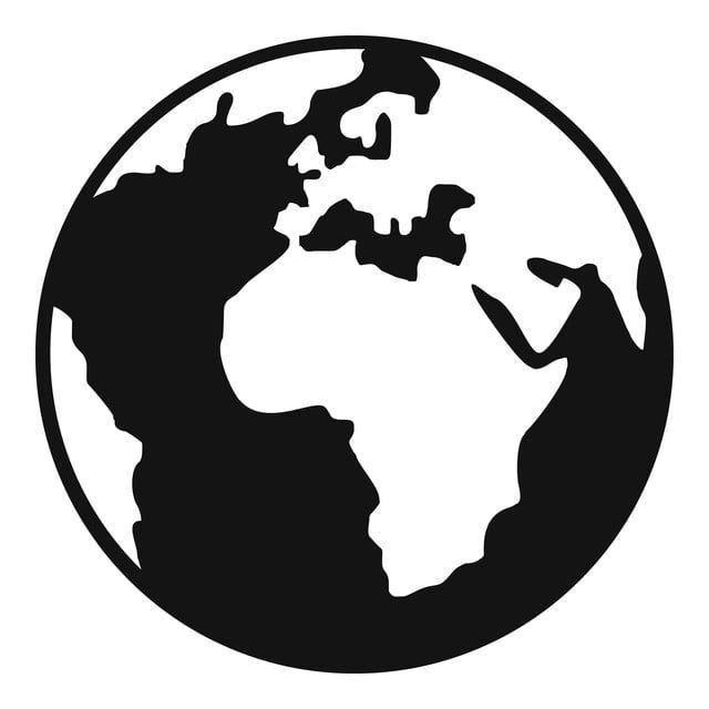 Earth Globe Icon Simple Style Globe Icons Earth Icons Style Icons Png And Vector With Transparent Background For Free Download Globe Icon Earth Drawings Globe Drawing