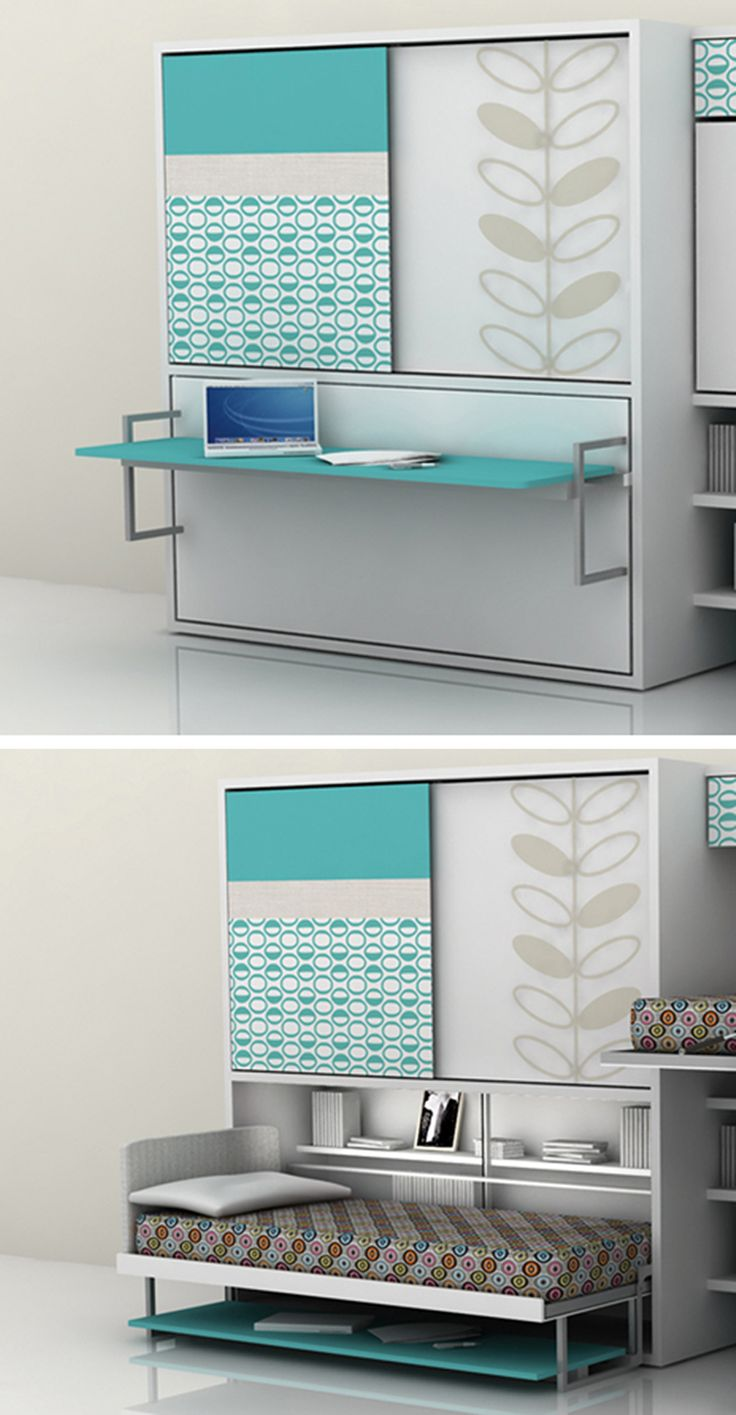 "Transforming furniture (""Poppi"" desk-bed combo by Clei) - Cool, but not what we need for everyday use."