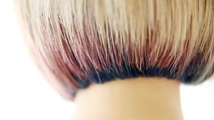 Two tone hair color - 부천미용실 세븐에비뉴 투톤염색,