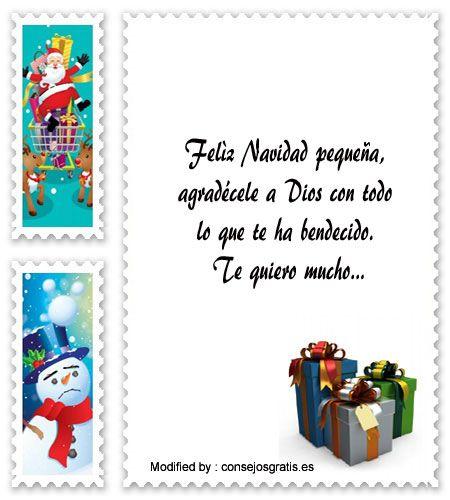 mensajes para enviar en Navidad, poemas para enviar en Navidad:  http://www.consejosgratis.es/fabulosas-frases-de-navidad-para-ninos/