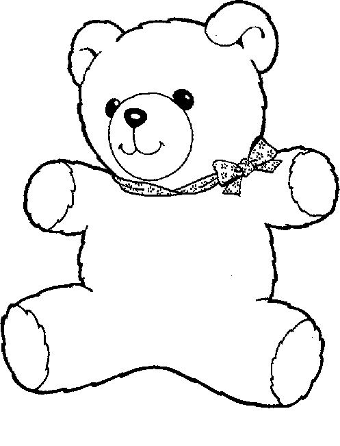 thanksgiving teddy bear coloring pages | 214 best images about Coloring Pages on Pinterest ...