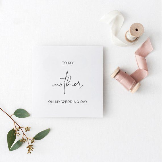 Wedding Day Cards For Bridal Party