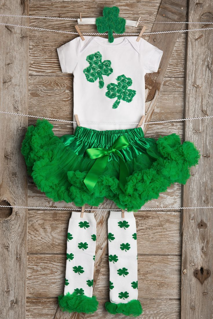 Baby St Patrick's Day Outfit, Girls St Patricks Day Outfit, Cutie Irish St Patricks Day Outfit