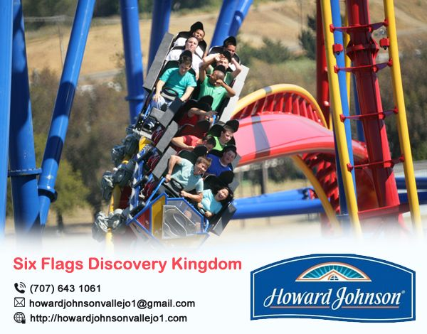 Howard Johnson Vallejo offer best #Six_Flags_Discovery_Kingdom package Visit At:- http://bit.ly/2xuT4Bg