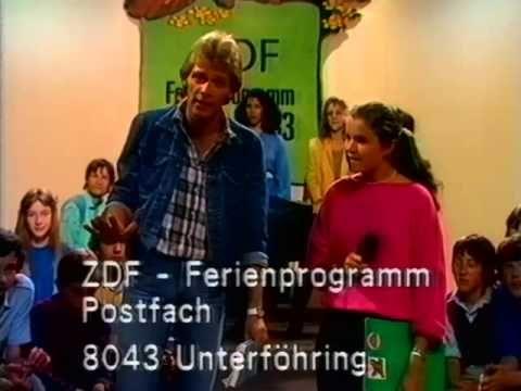 Das ZDF Ferienprogramm von 1983 - Mit Anke Engelke und Benny Schnier