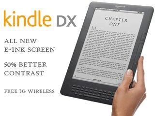Kindle DX-low vision