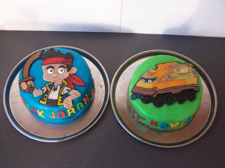 piraat jake en superloco taart