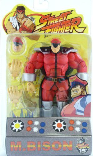 SOTA Toys Street Fighter Action Figure Series 1: M.Bison @ niftywarehouse.com #NiftyWarehouse #Geek #Gifts #Collectibles #Entertainment #Merch