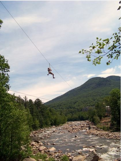 Loon Mountain Zipline NH. Where is this and why have I NEVER been?!