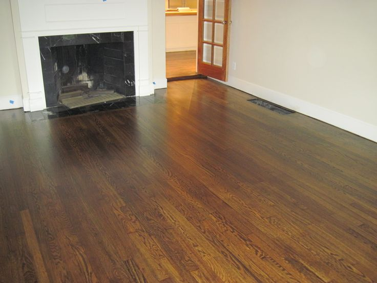 Red Oak Floors Stained Walnut   Google Search