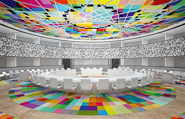 This is an amazing boardroom