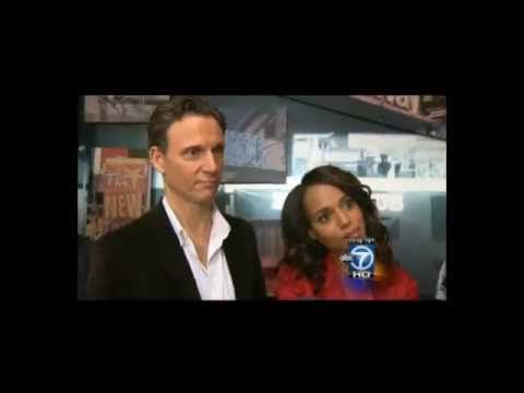 Scandal's Kerry Washington and Tony Goldwyn Discuss Chemistry (BTS at GMA) 05/14/13