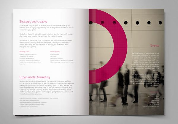 Driven Marketing. Corporate and Brand Identity by Higher , via Behance